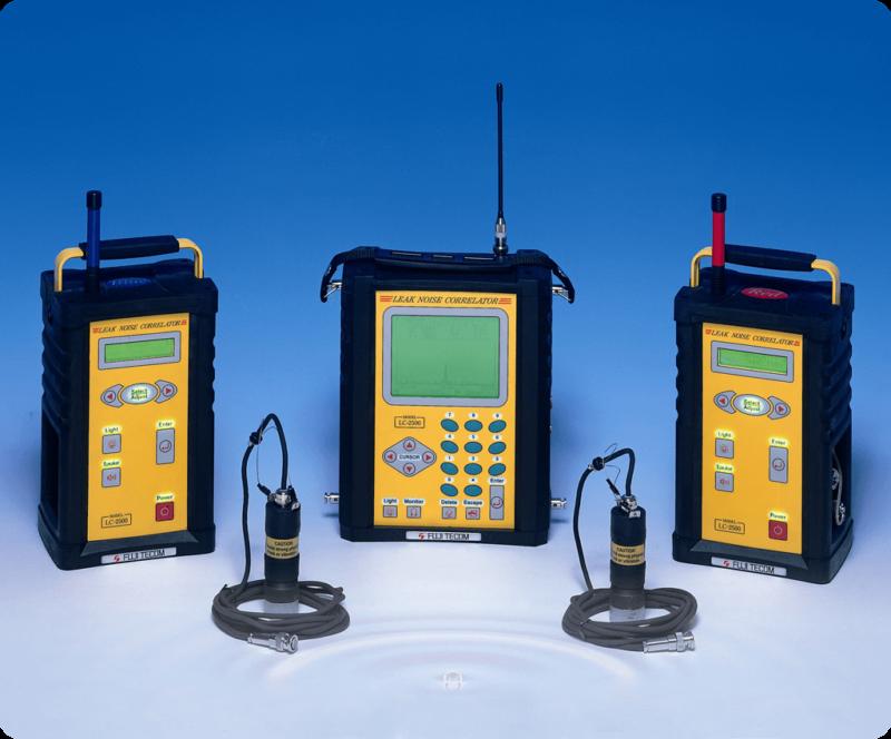 Correlatore portatile per la ricerca delle perdite d'acqua FUJI LC 2500